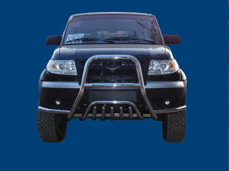 Фирменная защита бампера от автопроизводителя