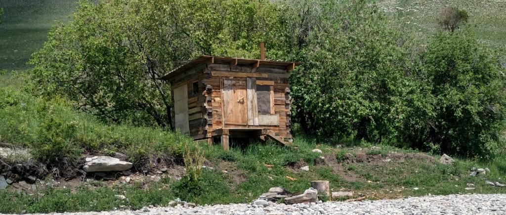 баня на берегу Байкала