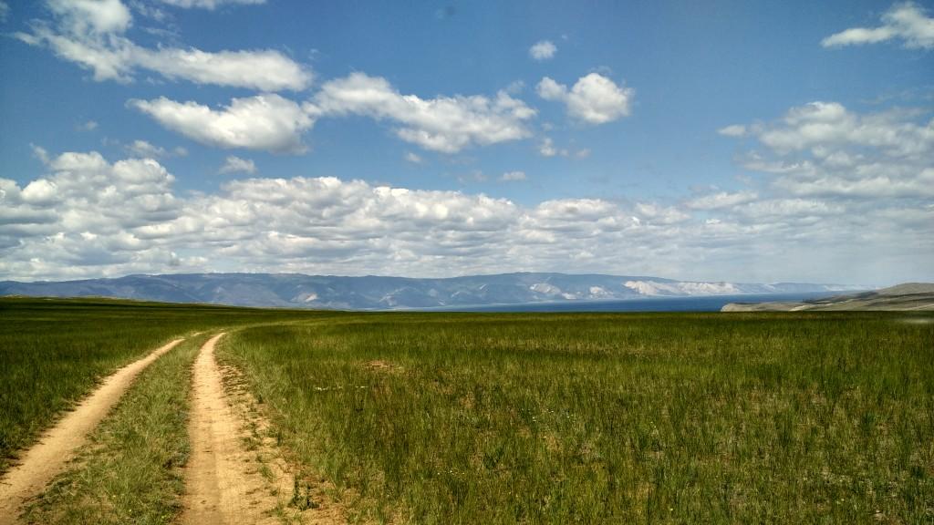 Западный берег Ольхона jimny