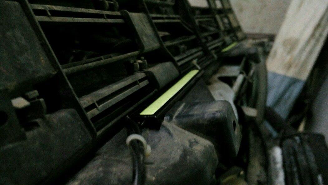 ДХО на внутреннюю часть решетки радиатора