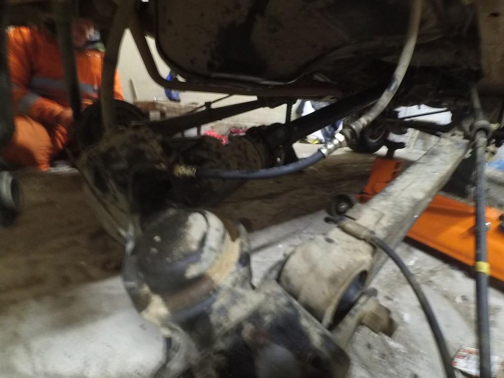удлинитель заднего тормозного шланга