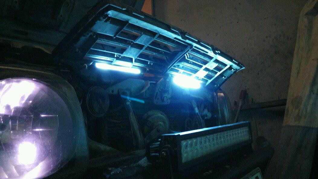 подсветка решетки радиатора