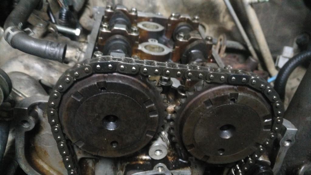 Сборка двигателя К6А