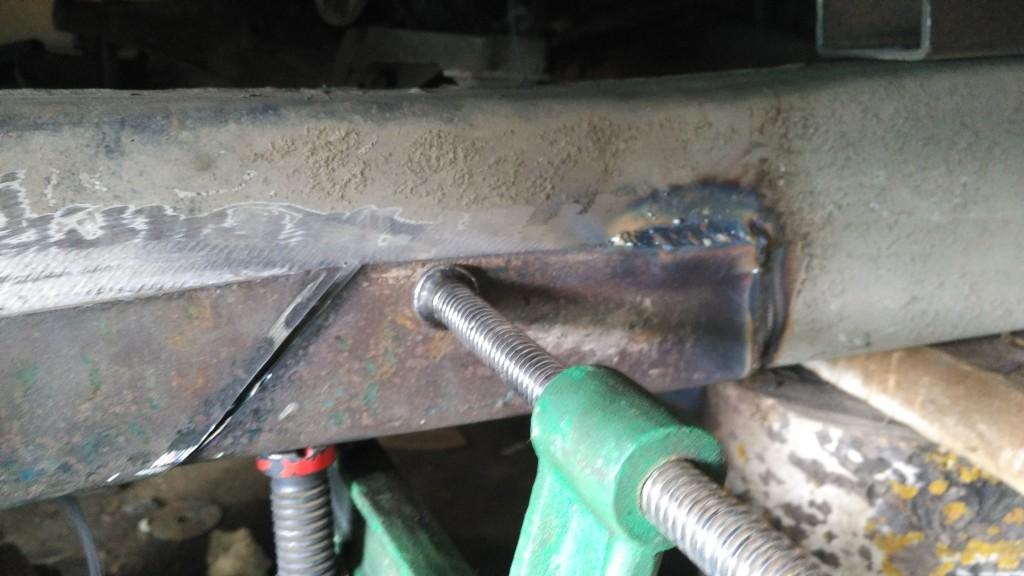 ремонт рамы jimny