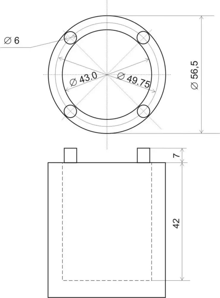 чертеж Ступичный ключ Suzuki Jimny/Escudo