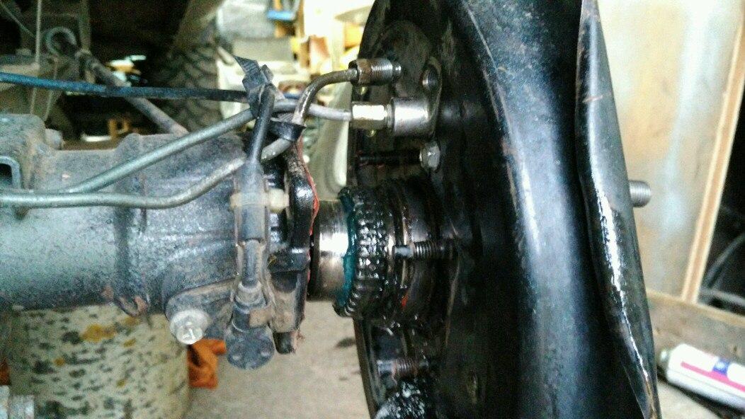 Замена заднего редуктора в Suzuki Jimny