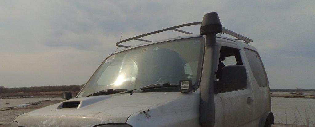 багажник на крышу платформа jimny