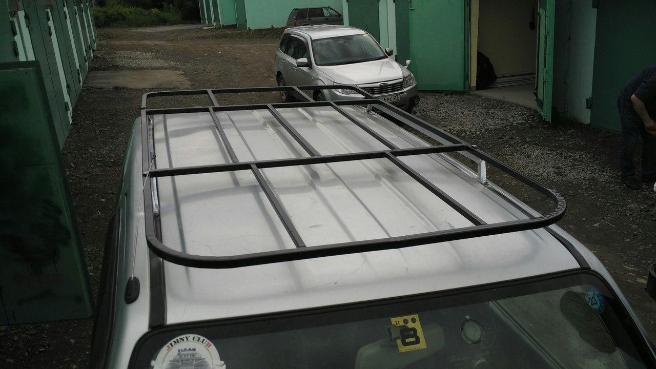 багажник на крышу jimny